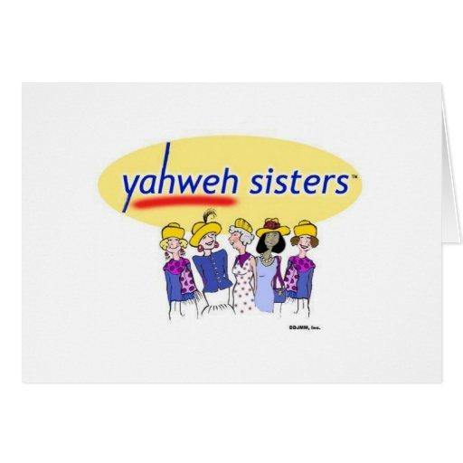 Yahweh Sisters Card