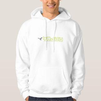 Yajuu Logo White Hoody