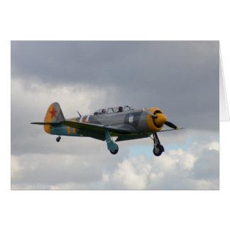 Yak 11 Fighter Trainer Card