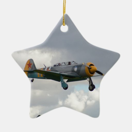Yak 11 Fighter Trainer Christmas Ornament