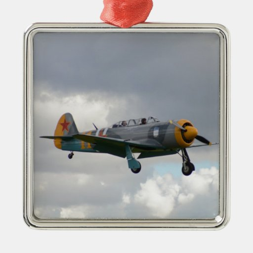 Yak 11 Fighter Trainer Christmas Tree Ornament
