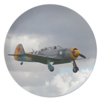 Yak 11 Fighter Trainer Party Plates