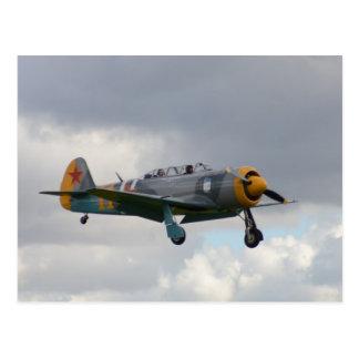 Yak 11 Fighter Trainer Postcard