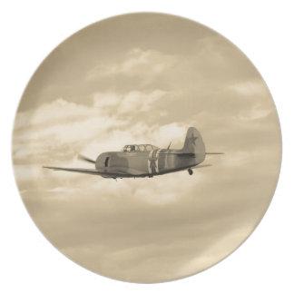 Yak 11 In Flight Dinner Plate