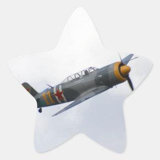 Yak 11 star sticker