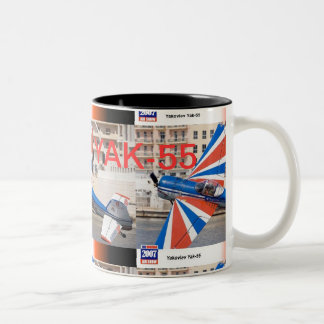 YAK-55 Two-Tone COFFEE MUG