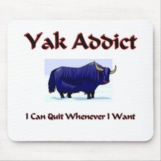 Yak Addict Mouse Pad