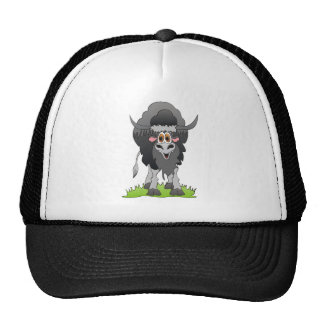 Yak Black Mesh Hats