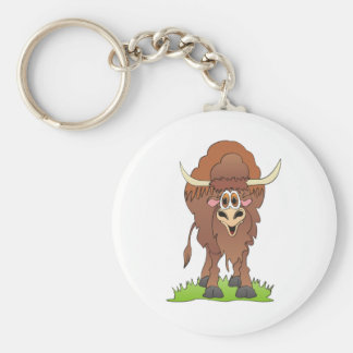 Yak Brown Key Chain