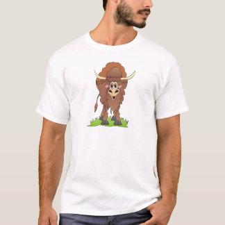 Yak Brown T-Shirt