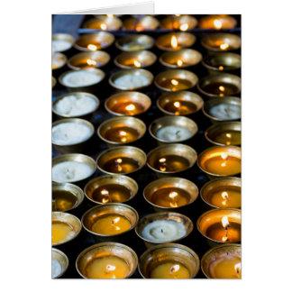 Yak Butter Candles Card