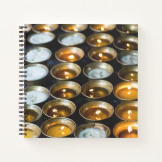 Yak Butter Candles Notebook