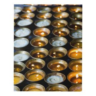 Yak Butter Candles Panel Wall Art