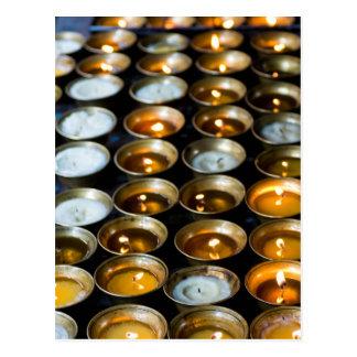 Yak Butter Candles Postcard