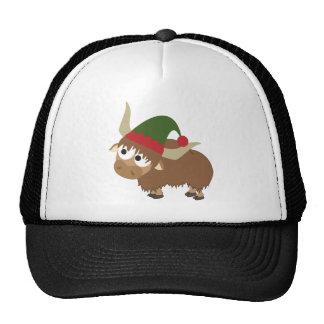 Yak Christmas Elf Trucker Hat