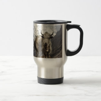 Yak in Nepal 15 Oz Stainless Steel Travel Mug
