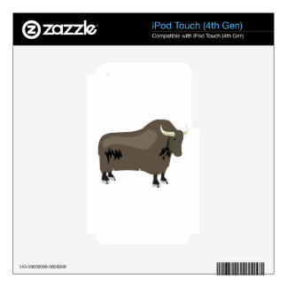 Yak iPod Touch 4G Decal
