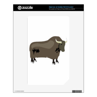 Yak Decals For NOOK Color
