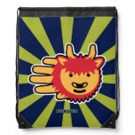 Hand shaped Yak Yak Drawstring Bag
