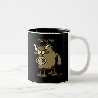 Yak Yak Yak coffee mug
