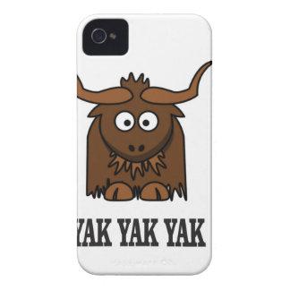 yak yak yak iPhone 4 Case-Mate case