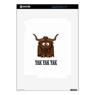 yak yak yak skins for the iPad 2