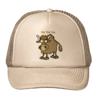 YAK YAK YAK Talking IS Life! Trucker Hat