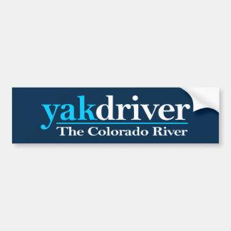 yakdriver (Colorado River) Bumper Sticker