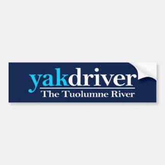 yakdriver (río de Tuolumne) Pegatina Para Auto