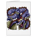 Yakeagle Dragon Greeting Card