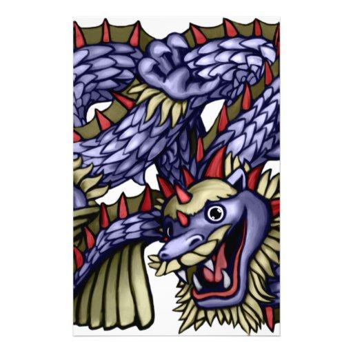 Yakeagle Dragon Stationery Paper