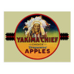 Yakima Chief Apple Crate Label Postcard