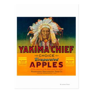 Yakima Chief Apple Label - Yakima, WA Post Cards