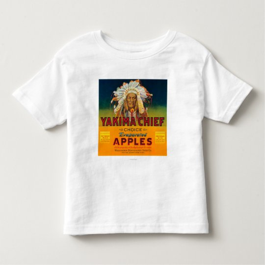 Yakima Chief Apple Label - Yakima, WA Toddler T-shirt