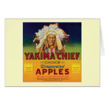 Yakima Chief Apples Vintage Label Cards