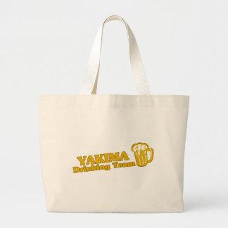 Yakima Drinking Team tee shirts Tote Bags