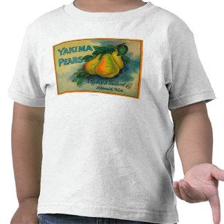Yakima Pears Crate LabelToppenish, WA Shirt