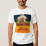 Yakima principal Apple etiqueta - Yakima, WA Playeras