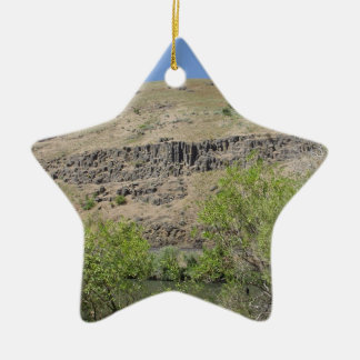 Yakima River Canyon Ceramic Ornament