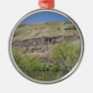 Yakima River Canyon Metal Ornament