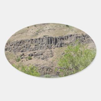 Yakima River Canyon Oval Sticker
