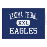 Yakima Tribal - Eagles - Senior - Toppenish Greeting Card