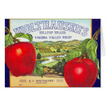 Yakima Valley Apples - Vintage Fruit Crate Label
