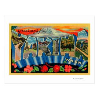 Yakima, Washington - escenas grandes 2 de la letra Postales