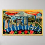 Yakima, Washington - escenas grandes de la letra Póster