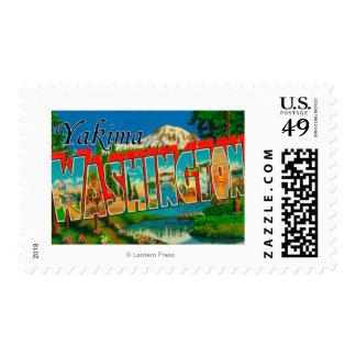 Yakima, Washington - escenas grandes de la letra Franqueo