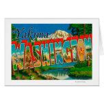 Yakima, Washington - escenas grandes de la letra Tarjetas