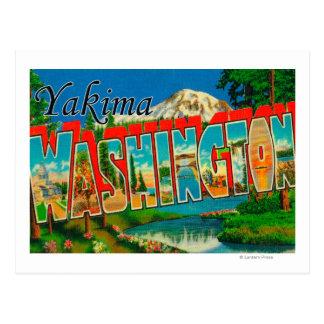 Yakima, Washington - Large Letter Scenes Post Card