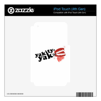 Yakity Yak Decal For iPod Touch 4G
