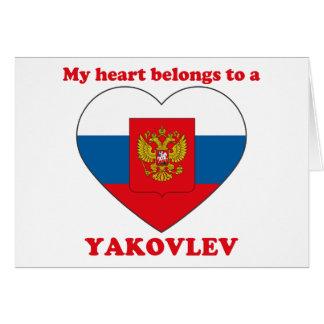 Yakovlev Greeting Cards